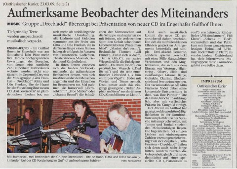 Ostfriesischer Kurier - 23.03.09