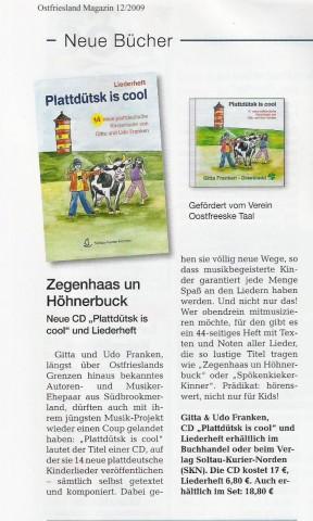 Ostfriesland Magazin 12-2009