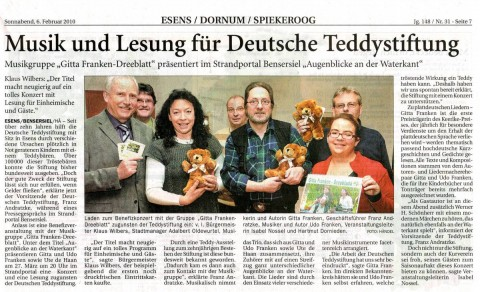 Anzeige für Harlingerland 06.02.2010