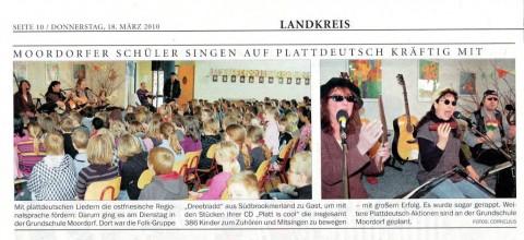 Ostfriesischer Kurier, 18.03.2010