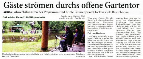 Ostfriesischer Kurier, 21.06.2010, Ausschnitt