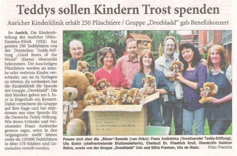 Ostfriesische Nachrichten, 28.07.2010