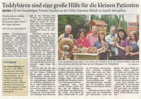 Ostfriesen Zeitung, 29.07.2010