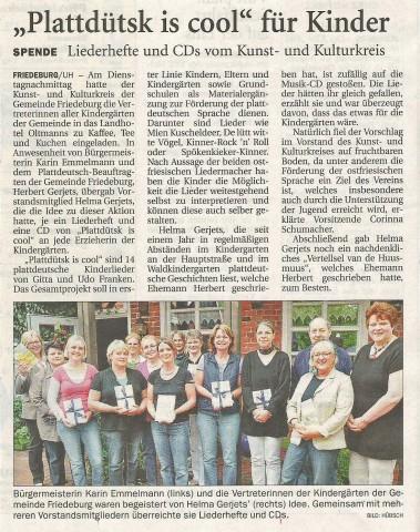 Anzeiger für Harlingerland, 19.08.2010