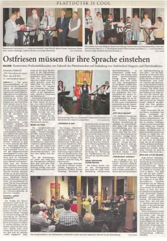 Ostfriesischer Kurier, 18.09.2010, S.20