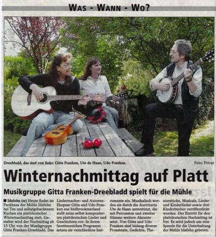 SonntagsReport-Leer, 06.02.2011