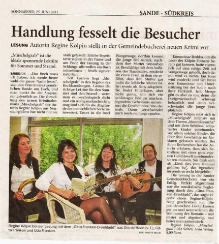 Jeversches Wochenblatt, 25.06.2011