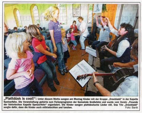Ostfriesische Nachrichten, 17.08.2011
