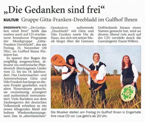 Ostfriesischer Kurier, 19.11.2011