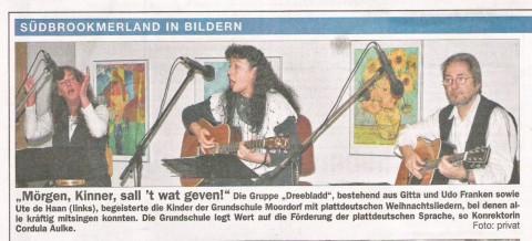Ostfriesische Nachrichten, 07.12.2011