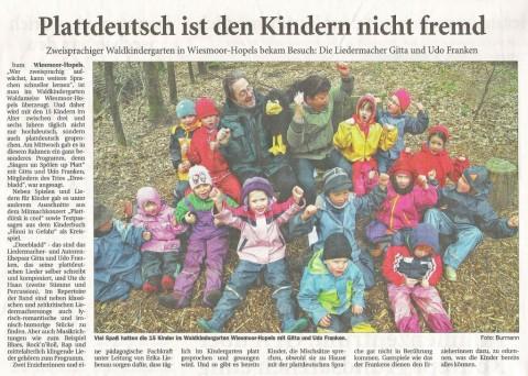 Ostfriesische Nachrichten, 20.04.2012