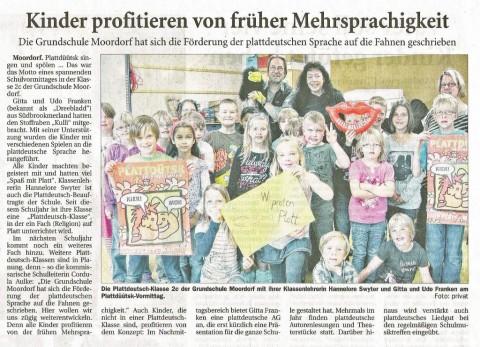 Ostfriesische Nachrichten, 16.06.2012