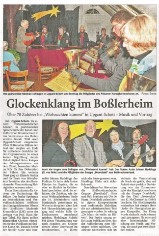 Ostfriesische Nachrichten, 27.11.2012