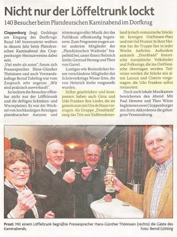 Münsterländische Tageszeitung, 11.03.2013