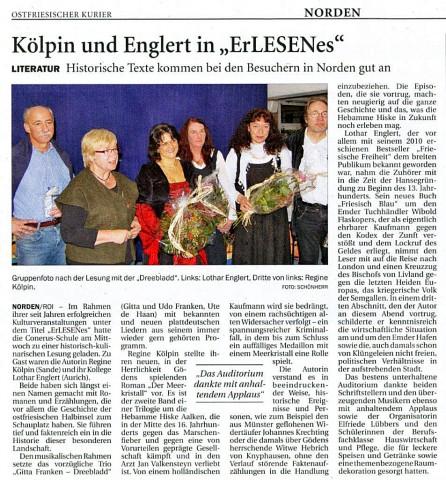 Ostfriesischer Kurier, 09.11.2013