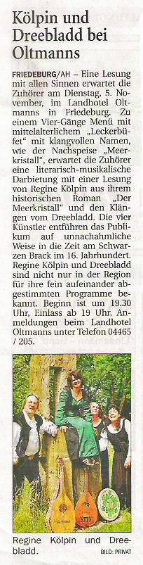 Anzeiger für Harlingerland, 30.10.2013