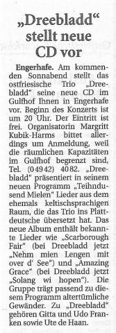 Ostfriesische Nachrichten, 24.03.2014