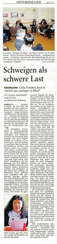 Ostfriesischer Kurier, 12.05.2014