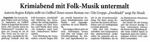 Ostfriesische Nachrichten, 26.07.2014