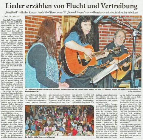 Ostfriesische Nachrichten, 23.11.2015