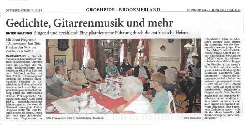 Ostfriesischer Kurier, 09.06.2016