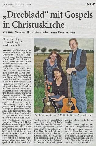 Ostfriesischer Kurier, 30.04.2016