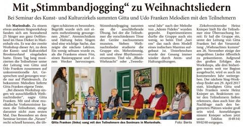 Ostfriesische Nachrichten, 08.11.2016, Seite 8