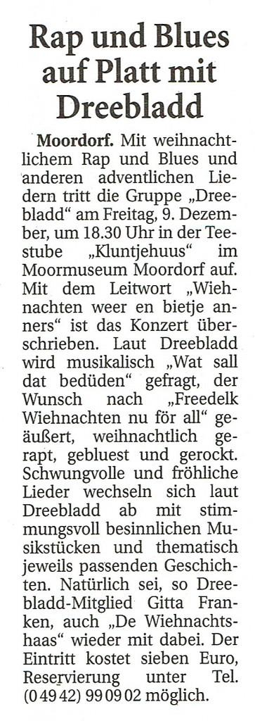 Ostfriesische Nachrichten, 24.11.2016