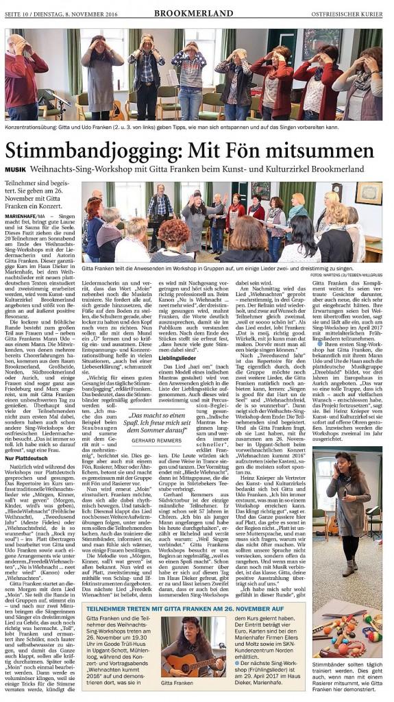 Ostfriesischer Kurier, Seite 10, 08.11.2016