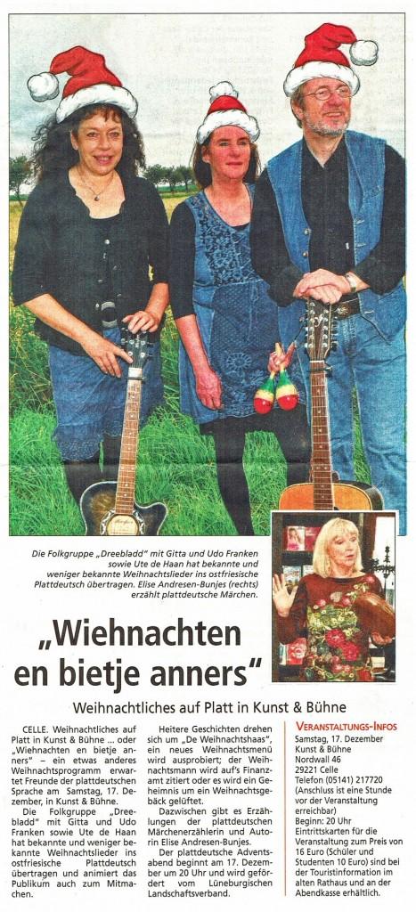 Celler Markt - Wochenblatt, 14.12.2016