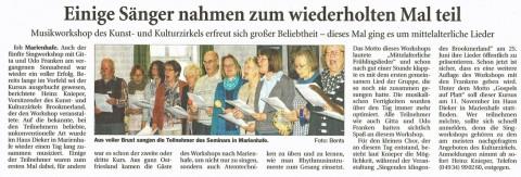 Ostfriesische Nachrichten, 03.05.2017