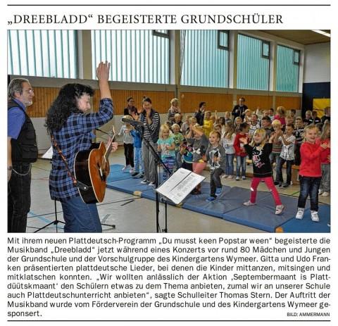 Ostfriesen Zeitung, 13.09.2017