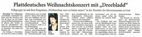Ostfriesische Nachrichten, 23.11.2017