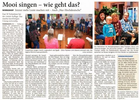 Ostfriesischer Kurier, 14.11.2017