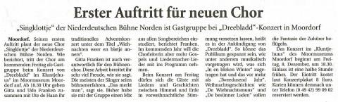 Ostfriesische Nachrichten, 05.12.2017