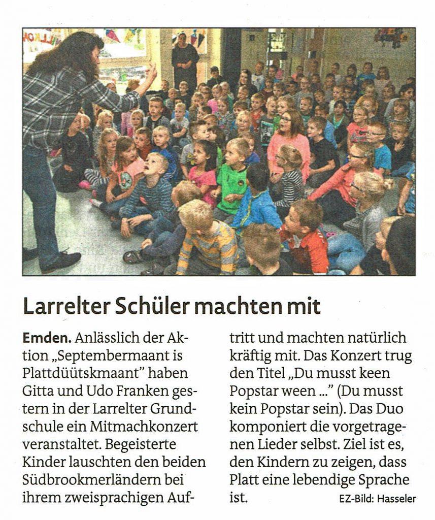 Emder Zeitung, 15.09.2018