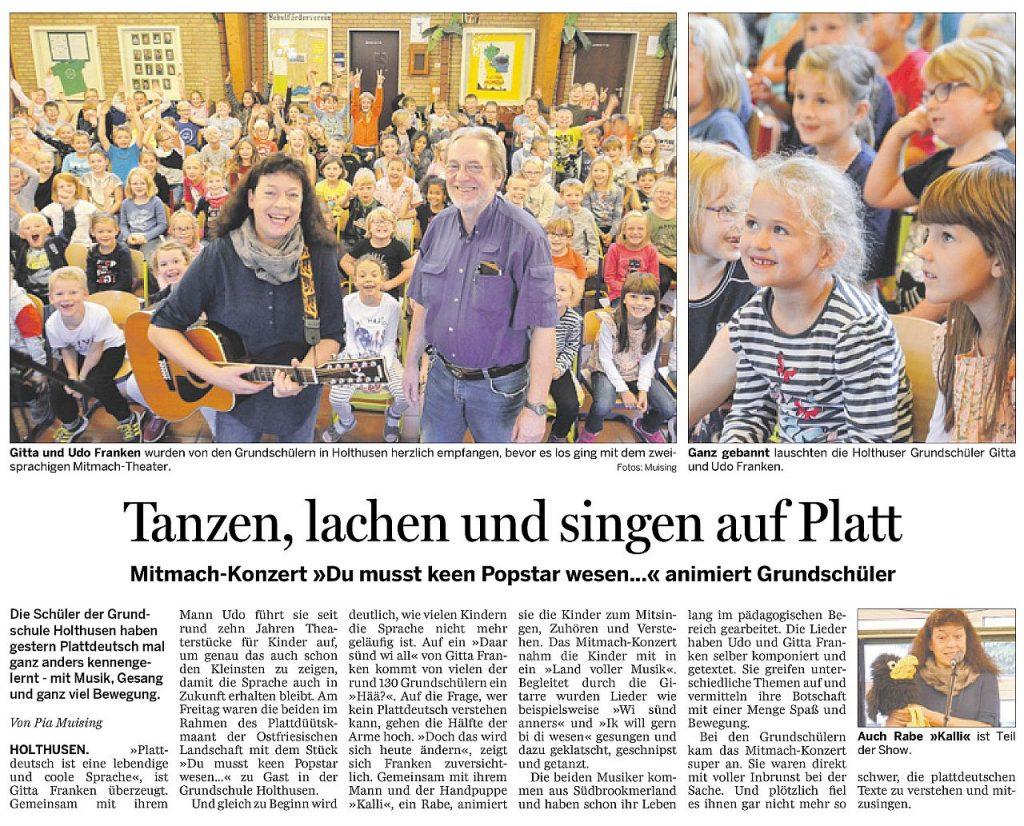 Rheiderland Zeitung, 22.09.2018