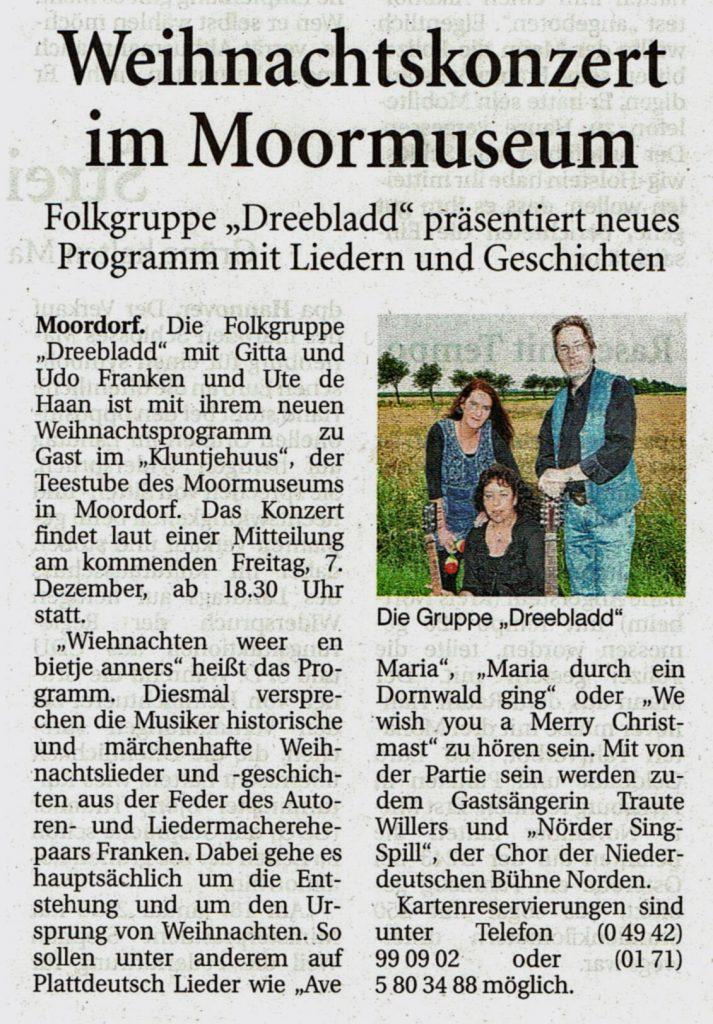 Ostfriesische Nachrichten, 04.12.2018