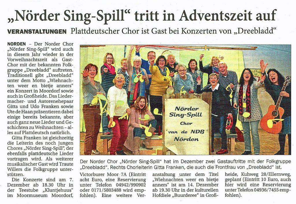 Ostfriesischer Kurier, 04.12.2018