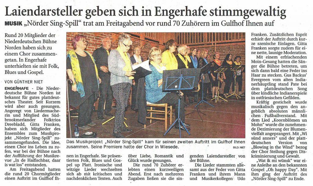 Ostfriesen-Zeitung, 13.05.2019