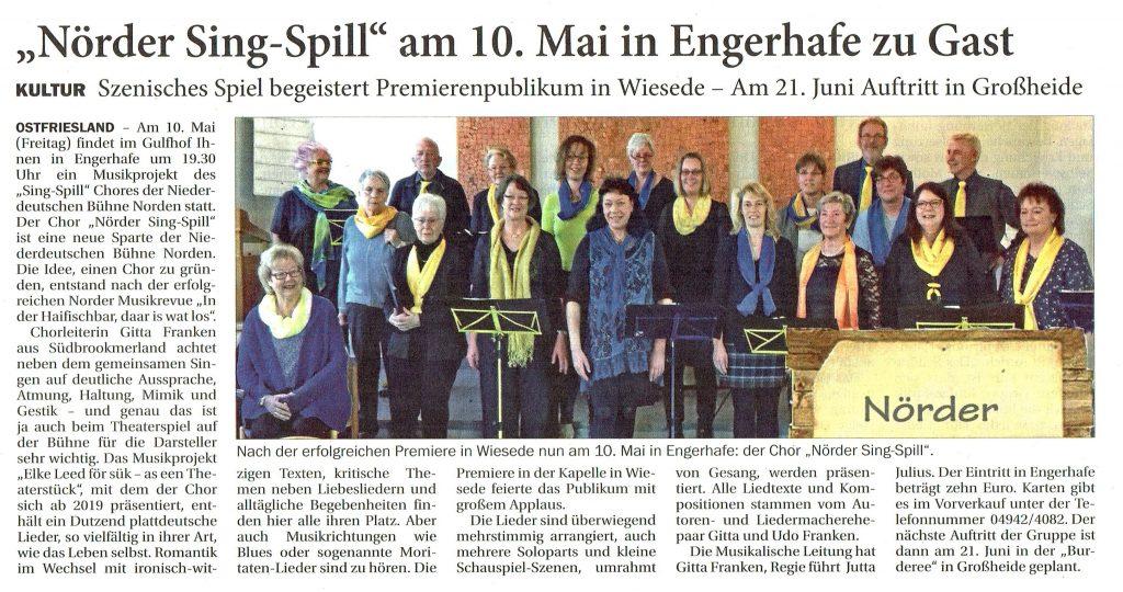 Ostfriesischer Kurier, 03.05.2019