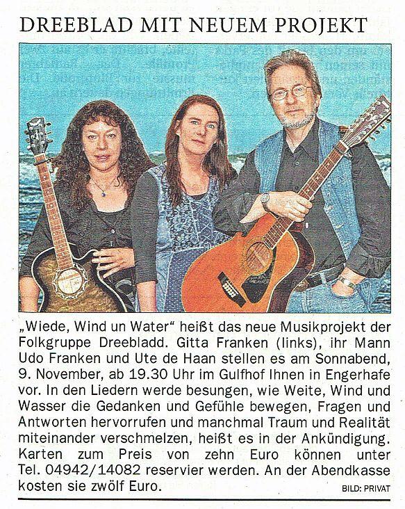 Ostfriesen-Zeitung vom 28.10.2019